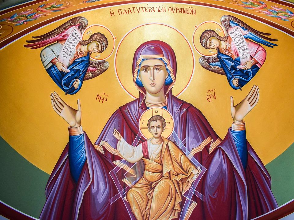 Богородице дево радуйся молитва текст с ударениями
