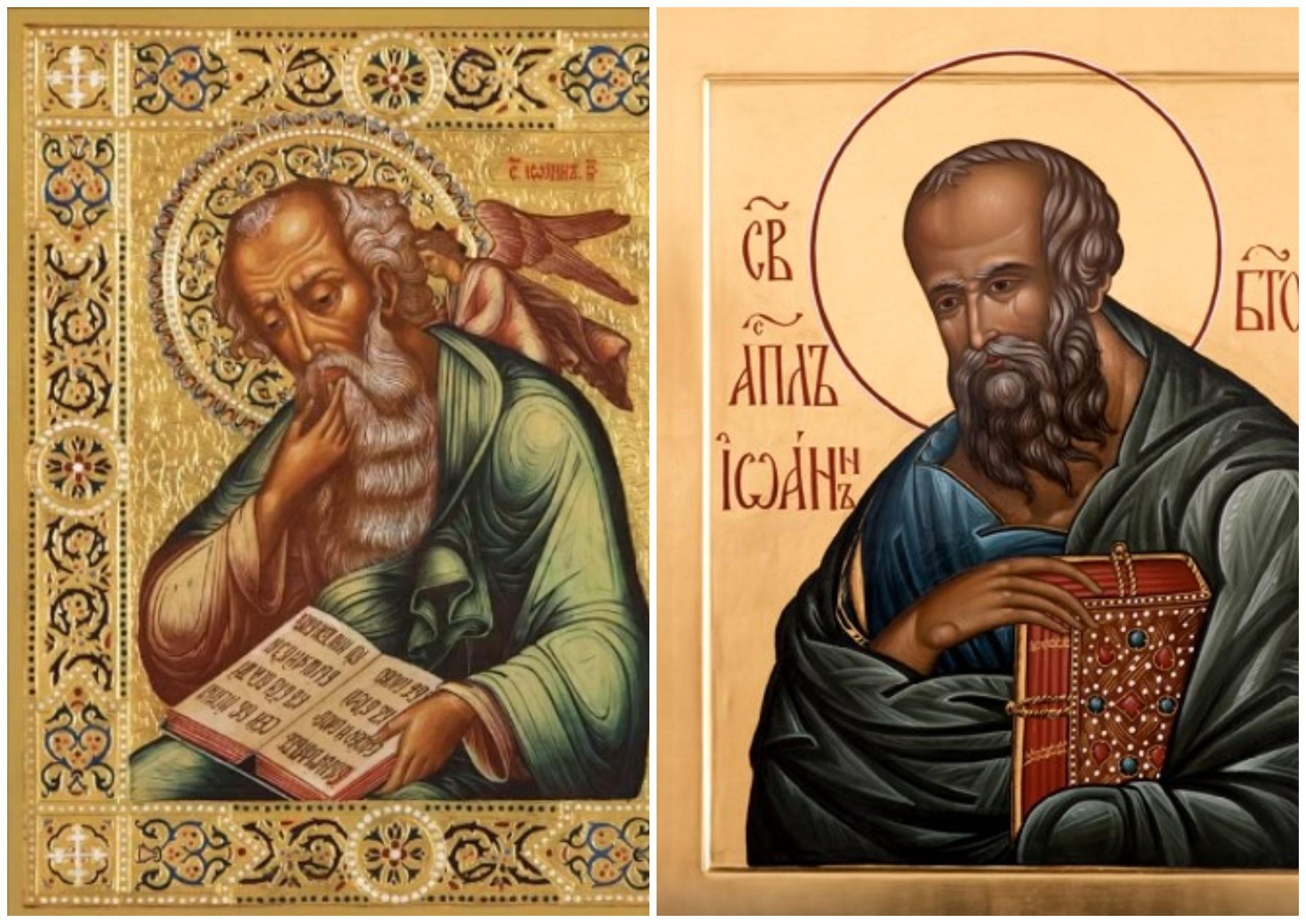 На фото апостол Иоанн Богослов.