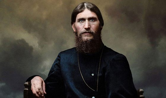 На фото изображен Григорий Распутин.