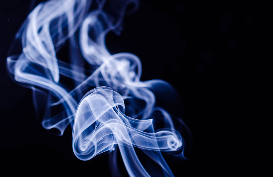 На фото изображен дым.