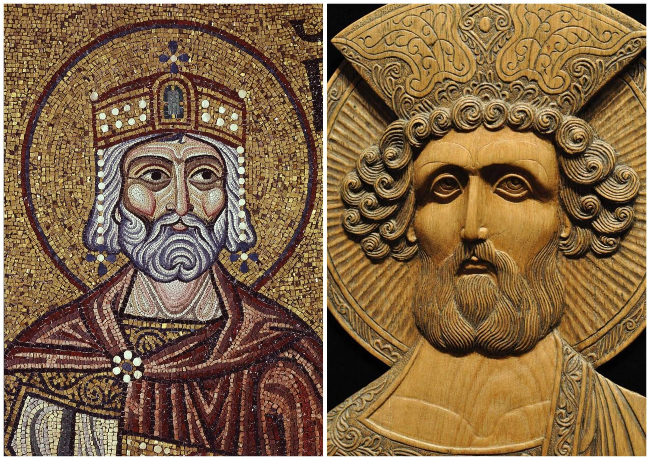 На фото изображен пророк Давид.