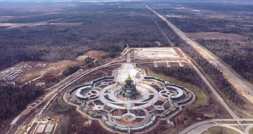 Фото Главного храма ВС России.