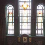 На фото изображен главный храм ВС России. Фото внутреннего убранства.