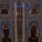 На фото изображен главный храм ВС России. Фото внутреннего убранства храма 10.