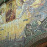 На фото изображен главный храм ВС России. Фото внутреннего убранства 3.
