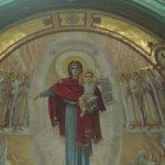 На фото изображен главный храм ВС России. Фото внутреннего убранства 5.