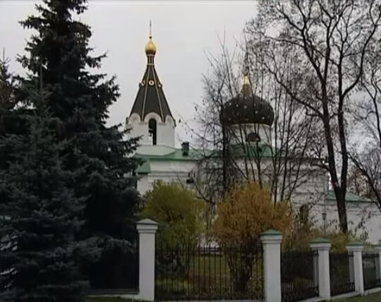 На фото изображен минский храм Марии Магдалины.