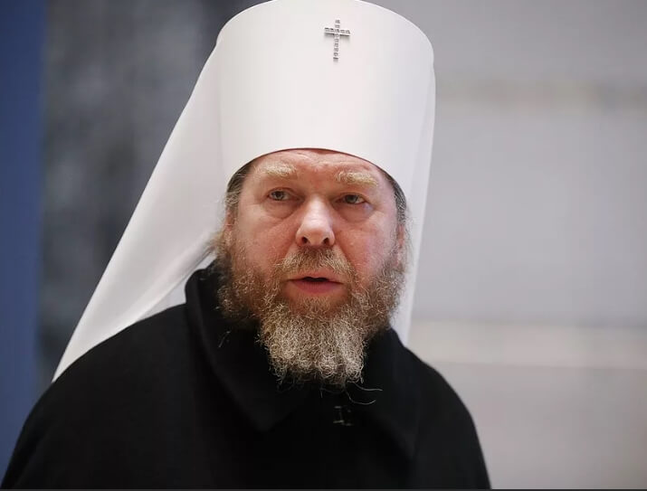 На фото митрополит Тихон.