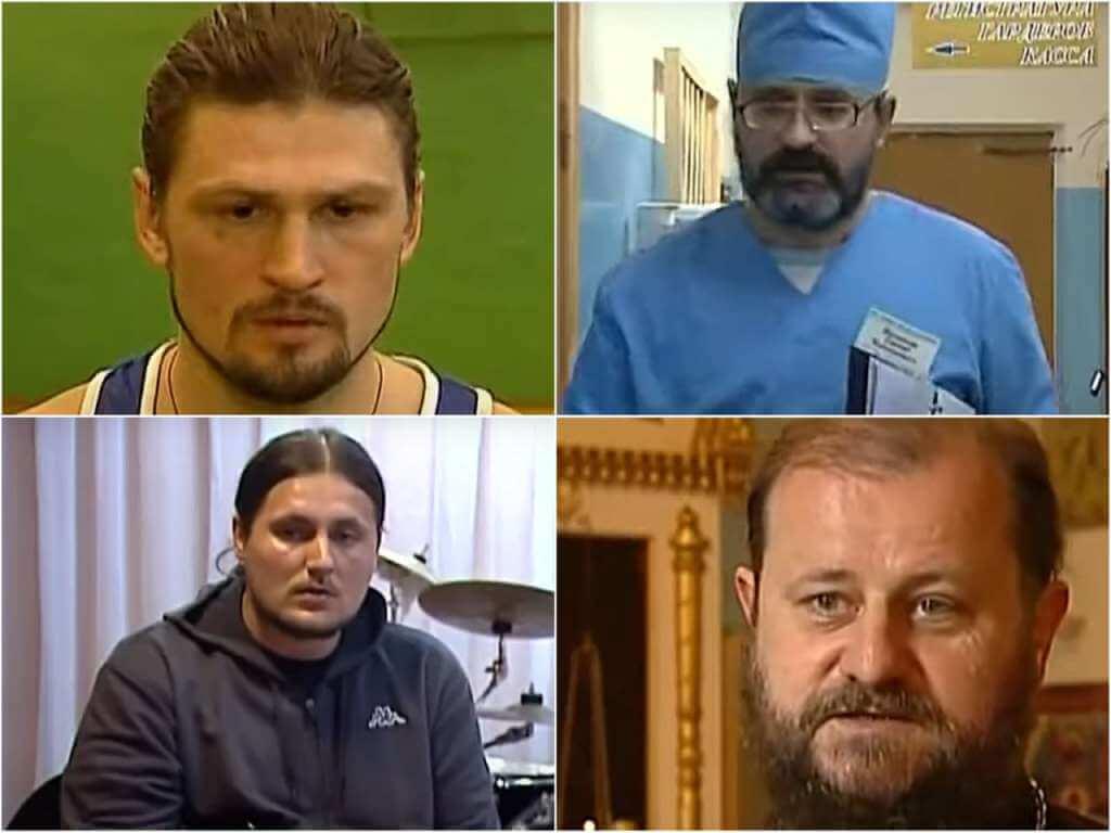 На фото изображены священники из Тверской области.