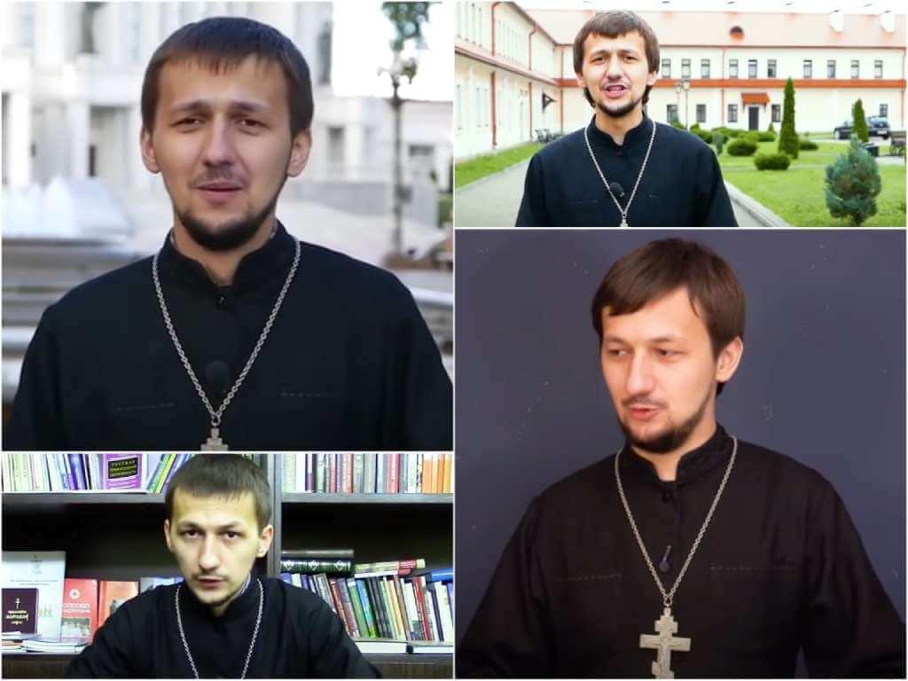 На фото Священник Александр Кухта.