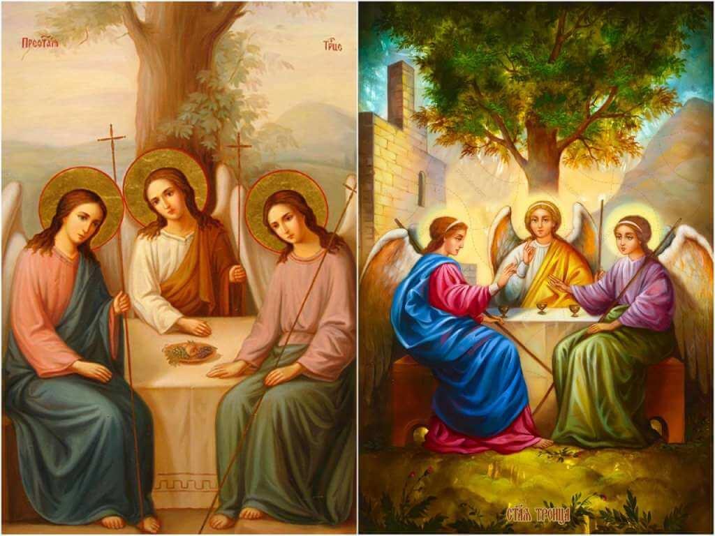 На фото Святая Троица.