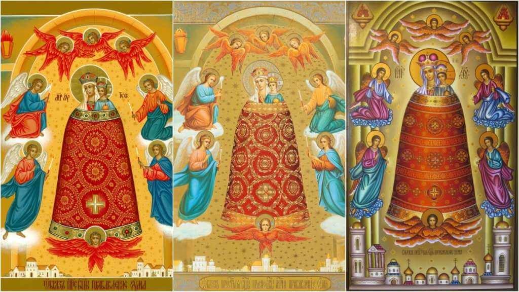 На фото изображена икона Божией Матери «Прибавление ума».