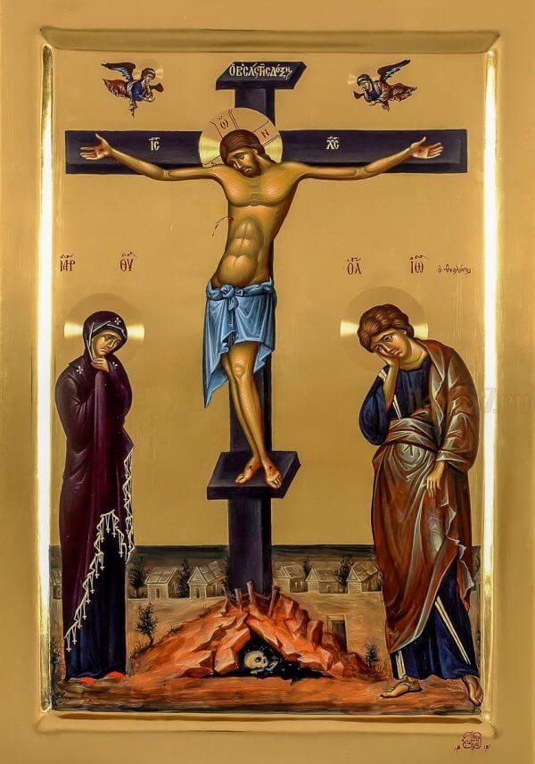 Икона «Распятие Господа Иисуса Христа».