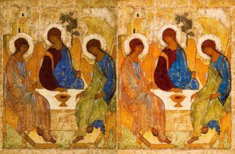 Икона «Святая Троица» Андрея Рублева. Что зашифровано в иконе